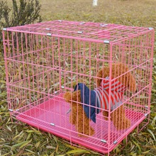 Dog and dog pet supplies, multi-province package, postal luxury pet dog cage, wire cage, cat cage, ten thousand soldiers dog cage and other articles