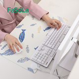 Japanese computer heating pad office desktop warm table mat student desk heating warm flashlight hot mouse mat