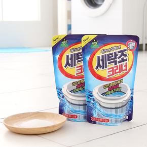 韩国进口家用洗衣机的槽清洗剂滚筒全自动杀菌消毒除垢内筒清洁剂