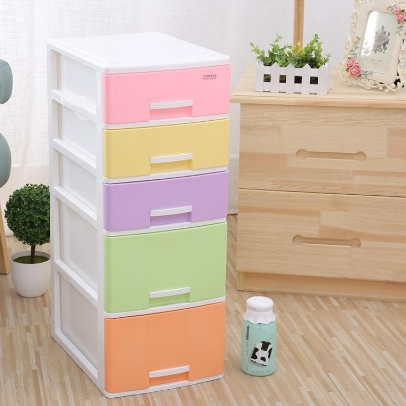 塑料内衣小抽屉式办公桌面收纳盒文件化妆品收纳柜杂物饰品整理柜