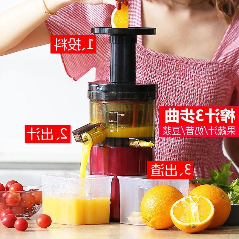 原汁机家用渣汁分离榨汁机蔬菜炸果汁机小型豆浆机多功能