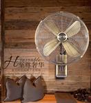 仿古壁扇复古电风扇家用包邮金属壁挂式遥控摇头宿舍餐厅挂墙风扇