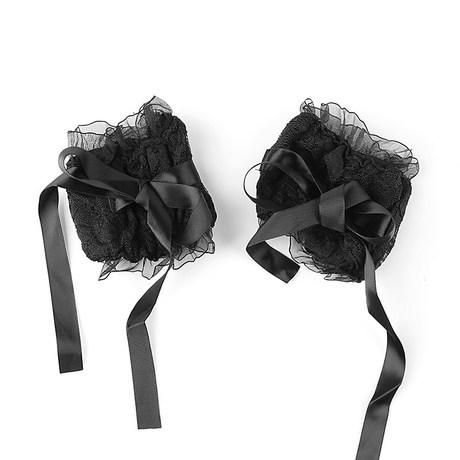 情趣内衣女佣配件穿戴玩具蕾丝眼罩手环套装配饰激情套装AL164商品大图