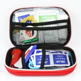First aid kit outdoor vehicle travel field portable medical