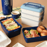 Japanese multi-layered box Picnic box outdoor outing box lunch box microwave can microwave large-capacity portable lunch