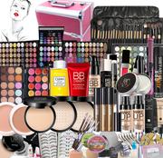 化妆品彩妆套装初学者美妆工具全套组合保真彩妆盒盘舞台淡妆裸妆