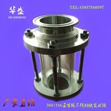 Sanitary stainless steel quick-fit audition / 304 stainless steel pipe audition / clamp straight through audition