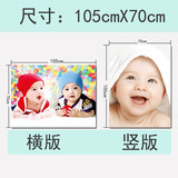 Baby poster photo illustrates cute male baby portrait pregnant pregnant baby teaching picture large-size wall paste photo