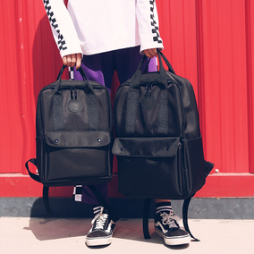 双肩包男大容量背包潮牌情侣街拍时尚潮流大学生书包15.6寸电脑包