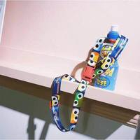 Small color sesame street drink bottle strap rope lanyard travel bottle with jumping travel rope