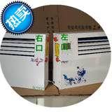 m6 into 6 out of 24 pure copper pipe plumbing air conditioning wall hanging radiator vertical fan tray blowing heating