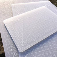 Translucent pad hand account scrapbooking cutting leather rubber stamp operation pad High value cutting board