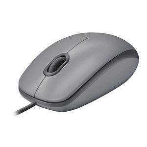 【官方旗舰店】罗技M111/M110有线静音鼠标USB有线鼠标笔记本台式电脑游戏家用办公光电男女左右手