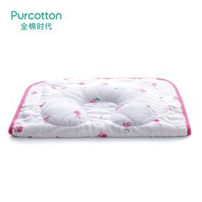 全棉时代 小兔杯子婴儿纱布多用枕33x23cm 1个装