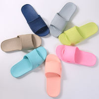 Cheap summer home home skid men and women indoor bath bathroom sandals and slippers 1-3 yuan hotel eva slippers