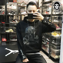 Heat induced discoloration! Trendy sweater, all colors, skeleton, head, country, tide, autumn, winter, cotton bottoming sweater, men and women.