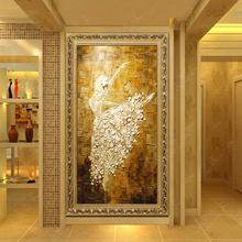 芭蕾舞 手绘油画立体客厅玄关挂画现代装饰画竖版 有框壁画欧式