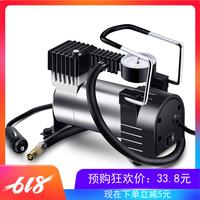 车载充气泵12V单缸便携式高压充气机电动汽车用加气泵多功能打气