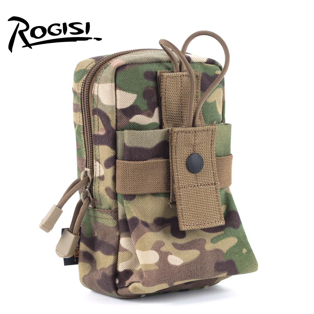ROGISI陆杰士军迷野营水壶便携腰包战术搭配手机杂物包附包10P17