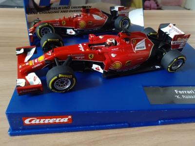 全新德国132数码卡雷拉轨道赛车法拉利 F14Tcarrera ferrari F14T