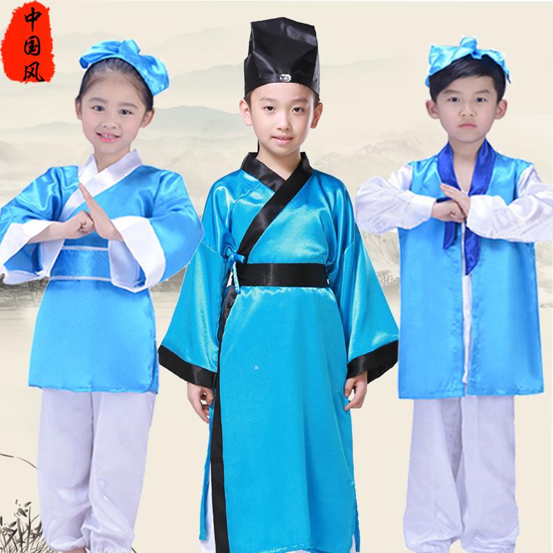 国学弟子规表演演出服