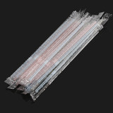 Soton disposable plastic drinking straw maternal elbow can be individually wrapped small straw infant yogurt