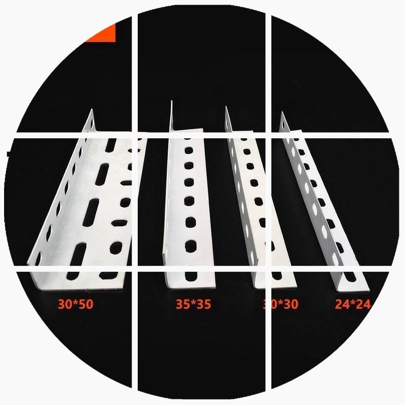 轻型角钢货架组装角铁条角铁材料加厚书架仓库货物架子支架不