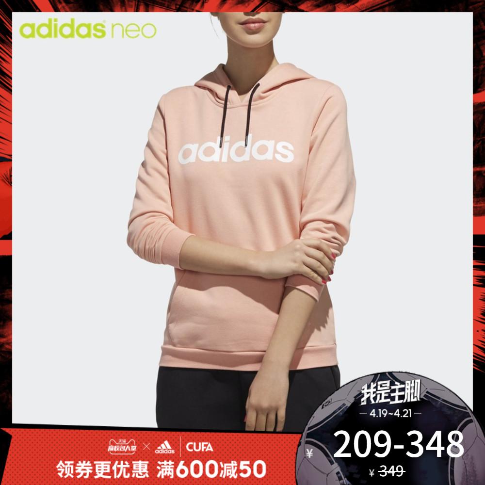 阿迪達斯官方 adidas neoCE HOODY 女子套頭衫DW7955 DW7957圖片