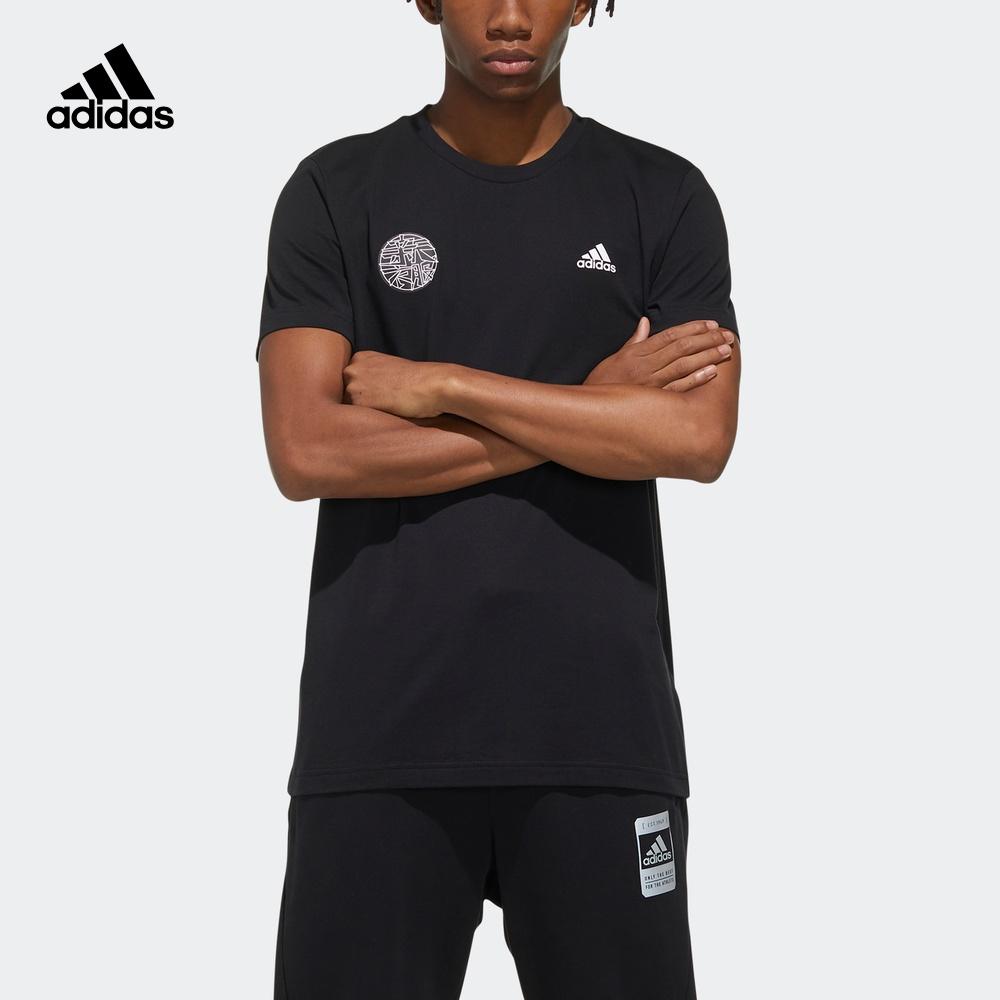 阿迪达斯官网 adidas 男装运动型格短袖T恤FU6219 FU6220