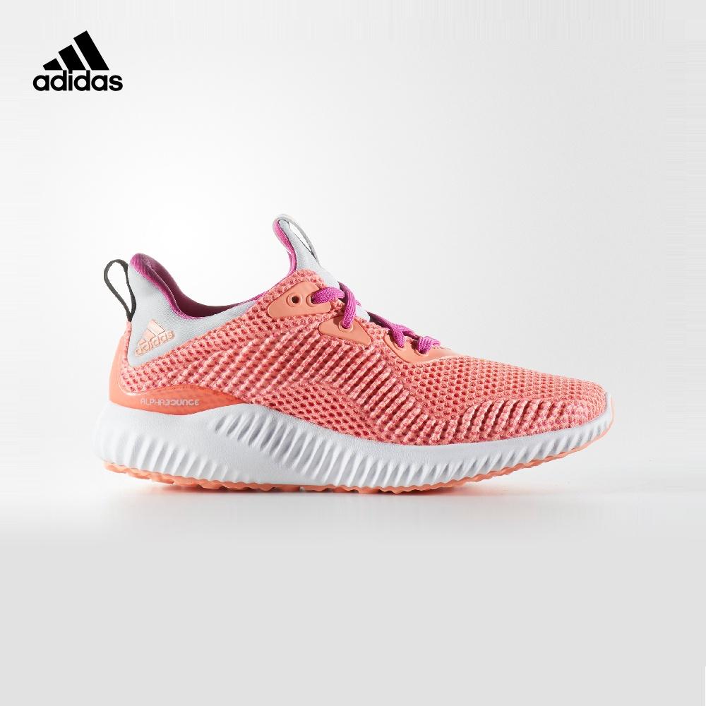 阿迪达斯官方 adidas alphabounce j 大童跑步儿童鞋BY3433