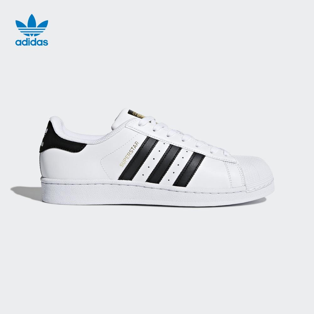 阿迪达斯官方adidas 三叶草 SUPERSTAR 男女 经典鞋 C77124