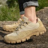 米斯特 骆驼户外男鞋军迷运动鞋爬山徒步鞋防水透气防滑登山鞋男