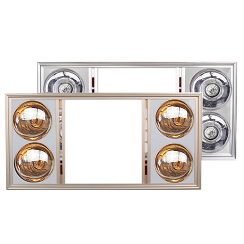 浴霸集成吊顶家用卫生间嵌入式多功能灯暖照明换气四灯取暖三合一