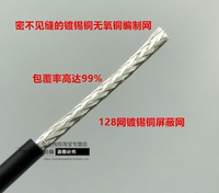 SYV50-3-1 double shielded high frequency coaxial cable RF cable RG58 pure copper signal cable 50 ohm feeder