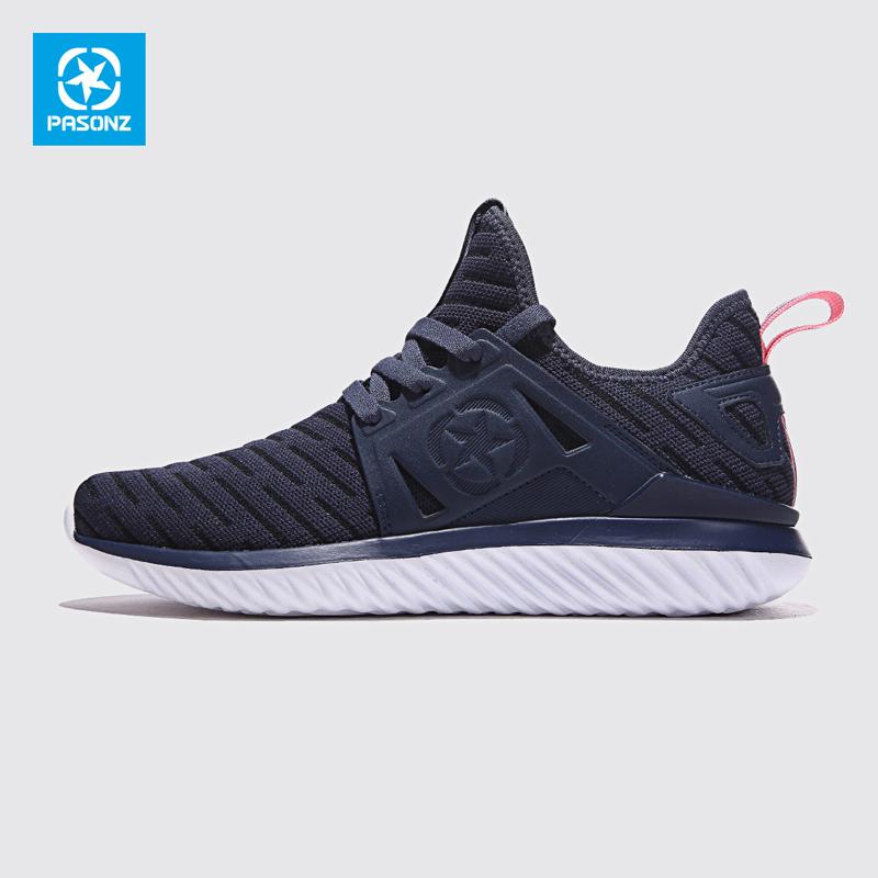 乔丹百尚2017秋季新款女子跑步鞋针织舒适休闲鞋轻便套靴慢跑鞋
