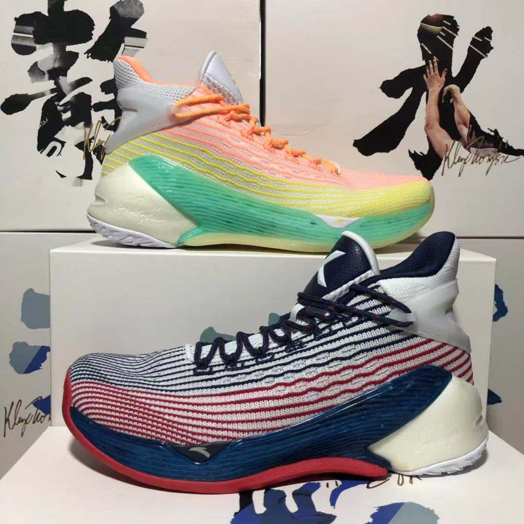 安踏篮球鞋男KT4灭霸全明星骑兵限量汤普森4/5代毒液低帮学生战靴