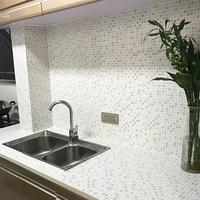 浴室马赛克墙纸自粘壁纸卫生间瓷砖贴防水墙贴厨房防油贴纸耐高温