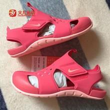 Nike耐克2019夏季新款女童鞋凉鞋中小童沙滩鞋943829943828600