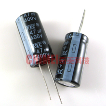 New original electrolytic capacitor 400V 47UF capacitor electronic components 3C digital accessories