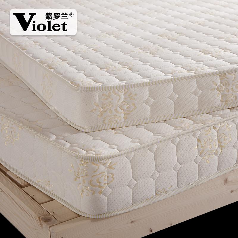 紫罗兰席梦思床垫 榻榻米记忆棉1.5m单人学生宿舍可折叠海绵床褥3元优惠券