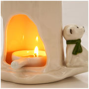 Aromatherapy lamp oil lamp bedroom candle home creative essential oil aroma mute ceramic incense burner humidification aromatherapy furnace