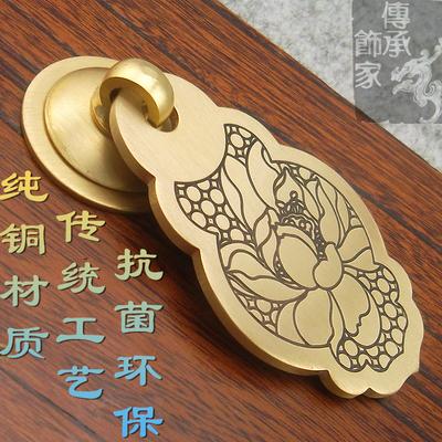 纯铜拉手橱柜