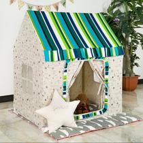 爆款超大实木游戏屋儿童帐篷室内男孩女孩过家家玩具屋摄影道具