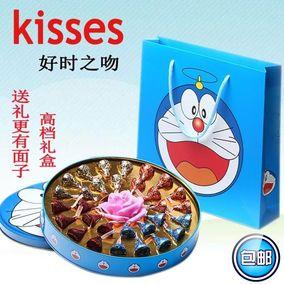 好时巧克力kisses之吻礼盒装男女生日礼物情人节创意礼物儿童喜糖