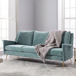 轻奢北欧简约现代布艺沙发组合设计师个性客厅家具小户型单双三人