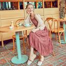 MG小象雪纺连衣裙女2018夏季新款中长款吊带裙子个性宽松chic衬衫