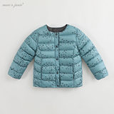 Mark Jenny winter clothes for boys and girls down jacket liner baby baby child ultra-light down jacket 82933