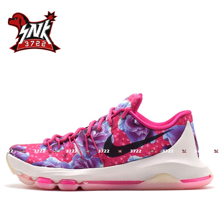 【SNK3722】Nike KD8 Aunt Pearl 杜兰特8 篮球鞋 819149-603