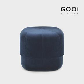GOOi北欧沙发凳时尚简约个性创意客厅绒布换脚凳南瓜马戏团小凳子