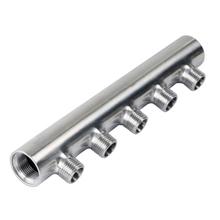 佛山日丰分水器2345678路单双头进口304不锈钢给水冷热油气分水器